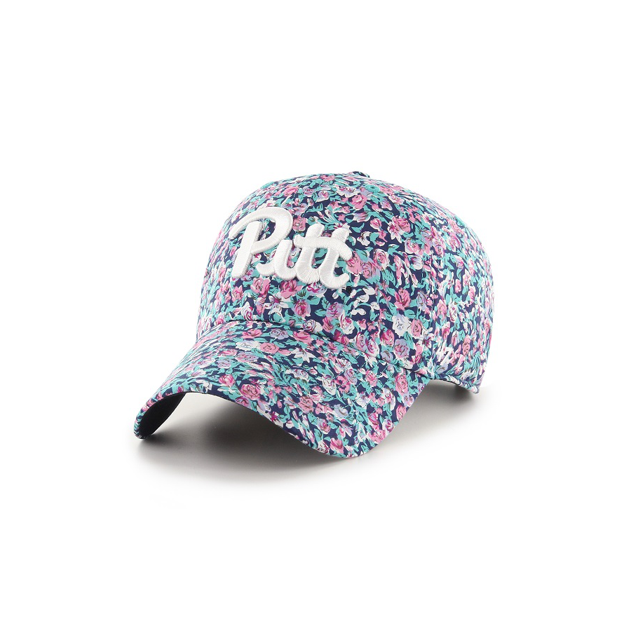 Image For 47 Brand Adult's Pitt Floral Helen Clean Up Hat