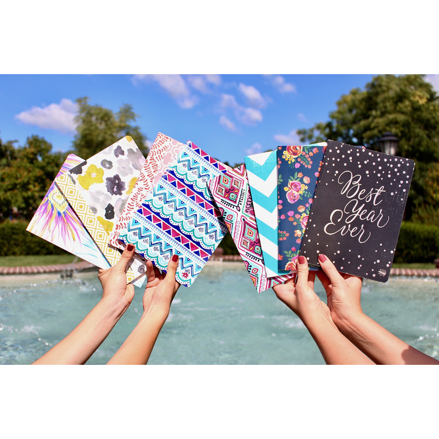 Image For Bloom Notebook in Assorted Colors