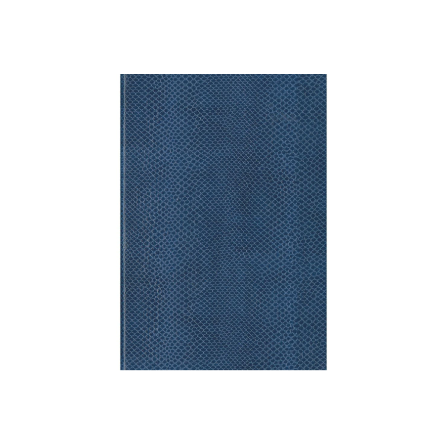 Image For Caspari Journal Navy Snakeskin