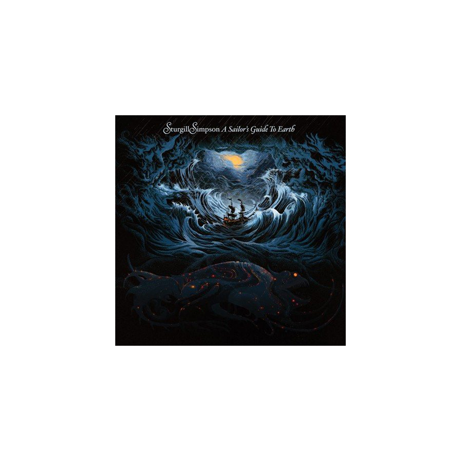 Image For STURGILL SIMPSON--A SAILOR'S GUIDE TO EARTH