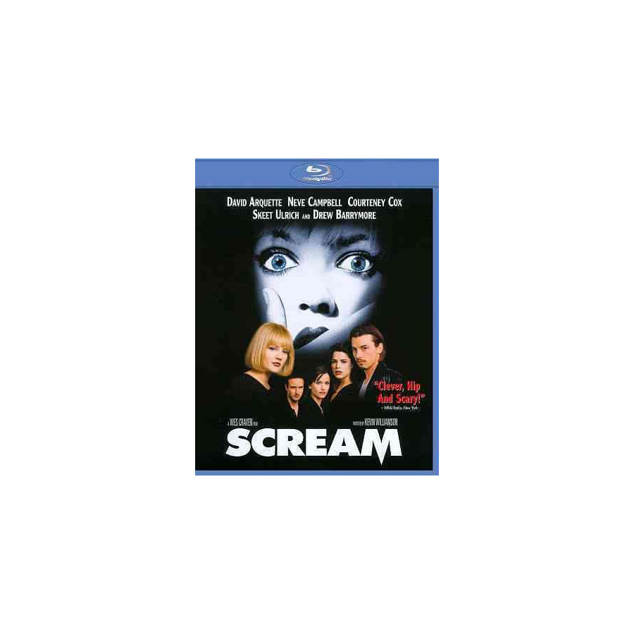 Image For SCREAM - BLU RAY