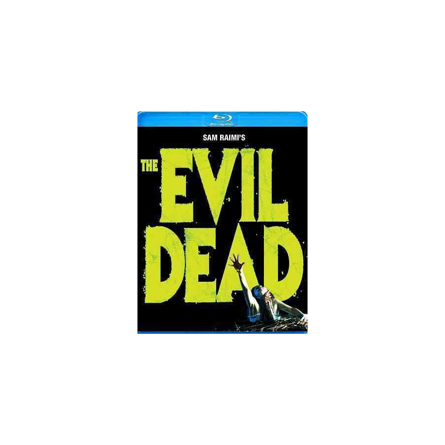 Image For EVIL DEAD BLU RAY DVD