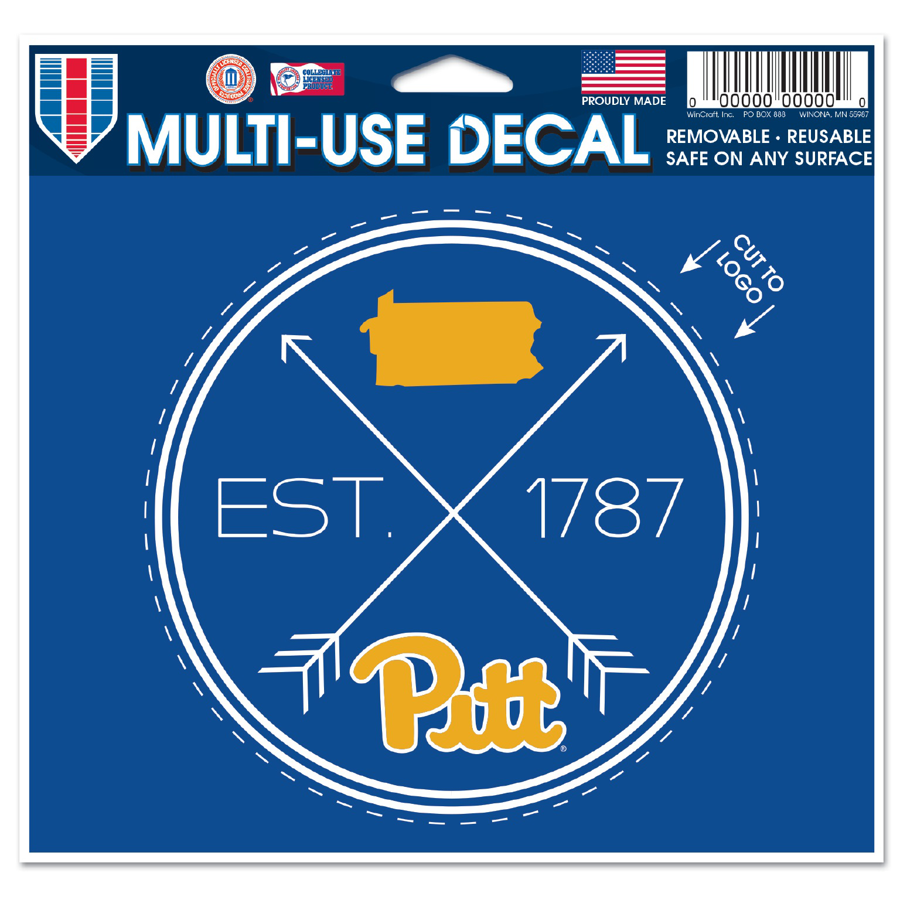 Image For Pitt Compass Decal