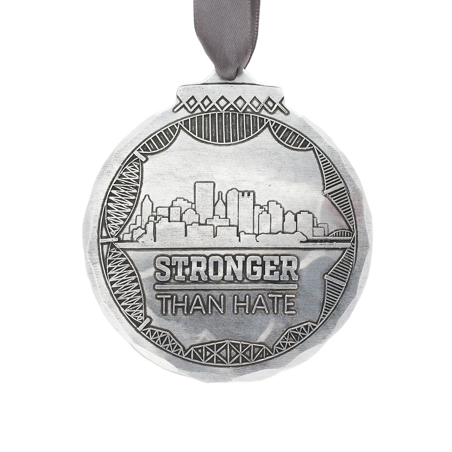 Image For Wendell August Stronger Than Hate Ornament