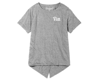 Image For Legacy Women's Pitt Unwind Back Tie T-Shirt