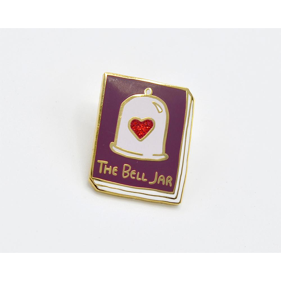 Image For Ideal Bookshelf The Bell Jar Lapel Pin