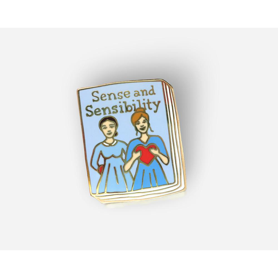 Image For Ideal Bookshelf Sense and Sensibility Lapel Pin