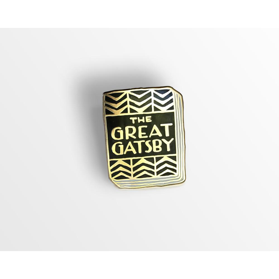 Image For Ideal Bookshelf The Great Gatsby Lapel Pin