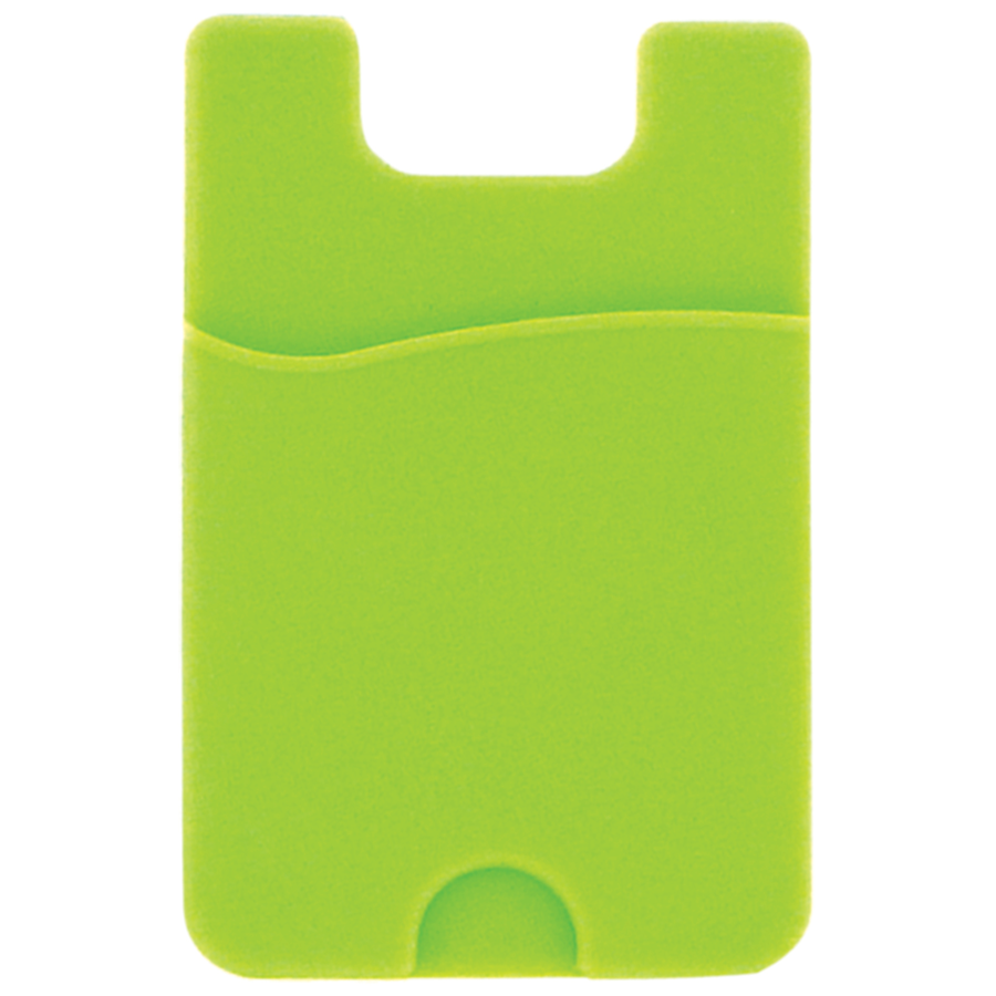 Image For Card Cling Card Holder for SmartPhones - Green