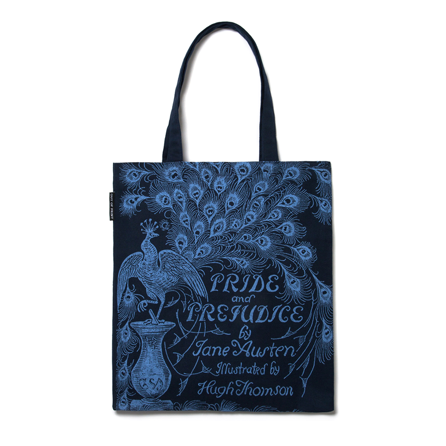 Image For Out of Print Pride and Prejudice Tote Bag