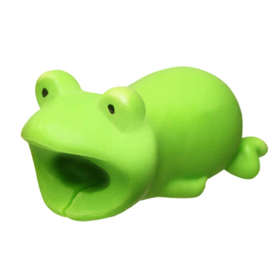 Image For Cable Bites iPhone Cable Holder - Frog