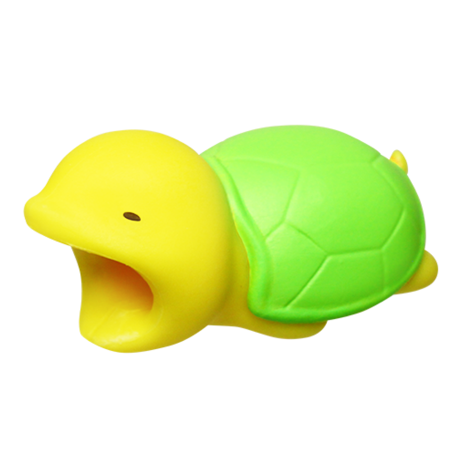Image For Cable Bites iPhone Cable Holder - Turtle