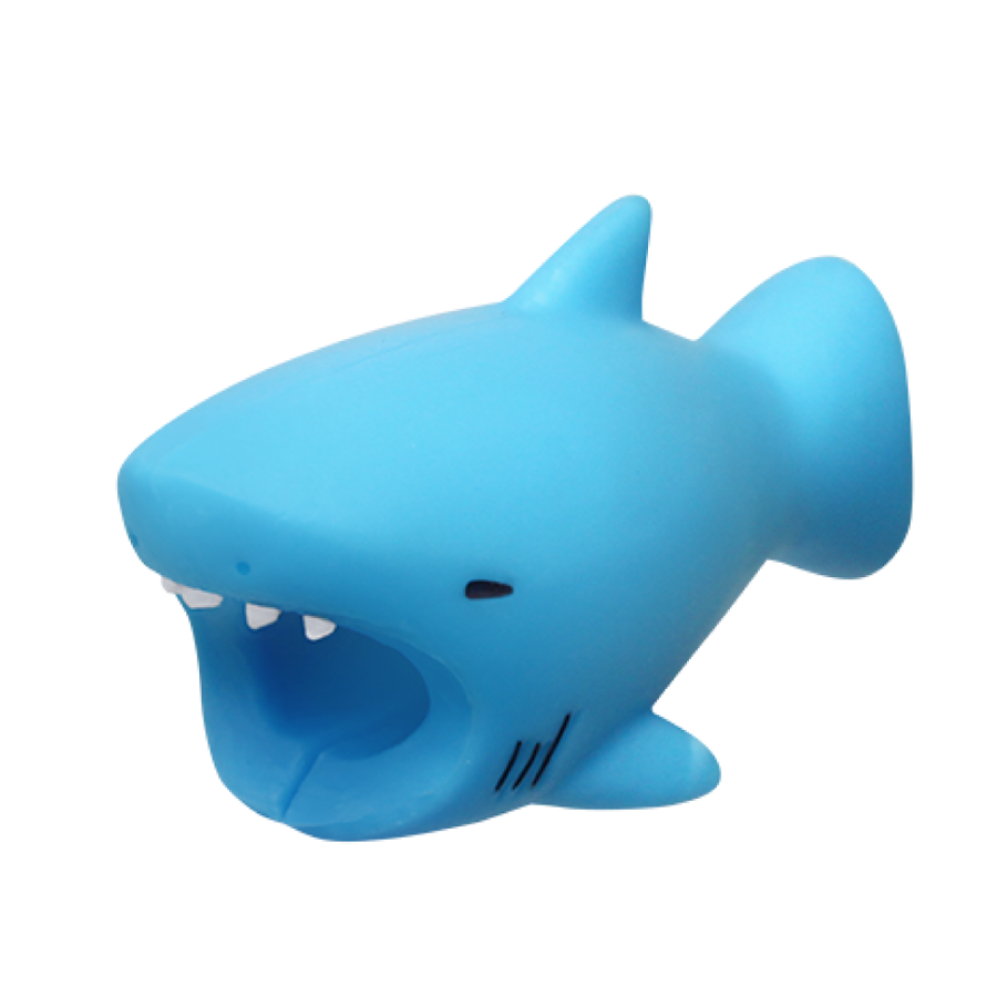 Image For Cable Bites iPhone Cable Holder - Shark