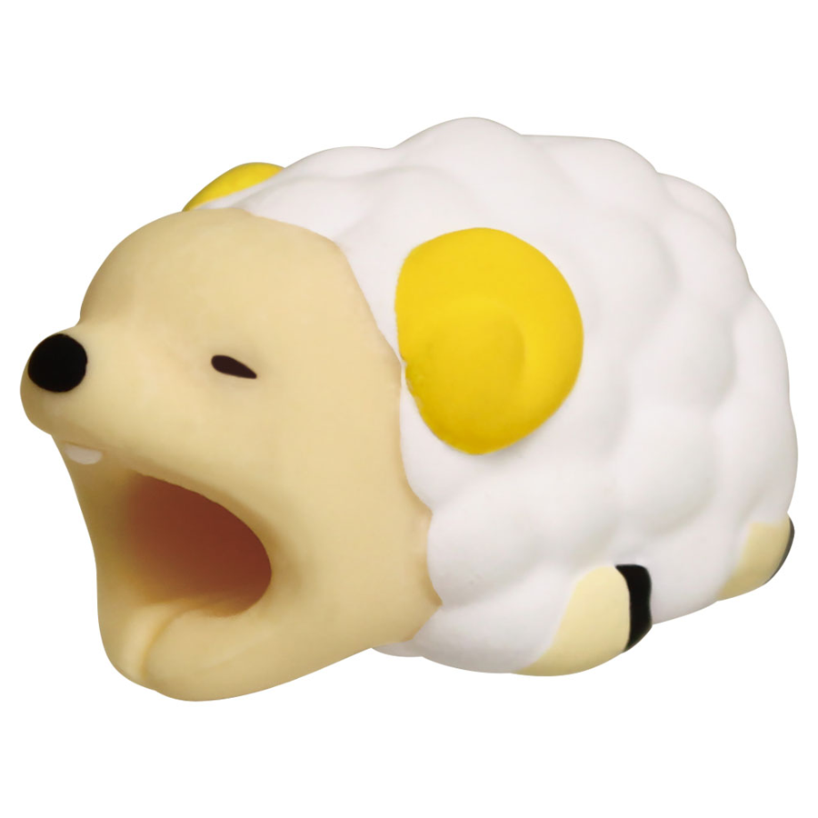 Image For Cable Bites iPhone Cable Holder - Sheep