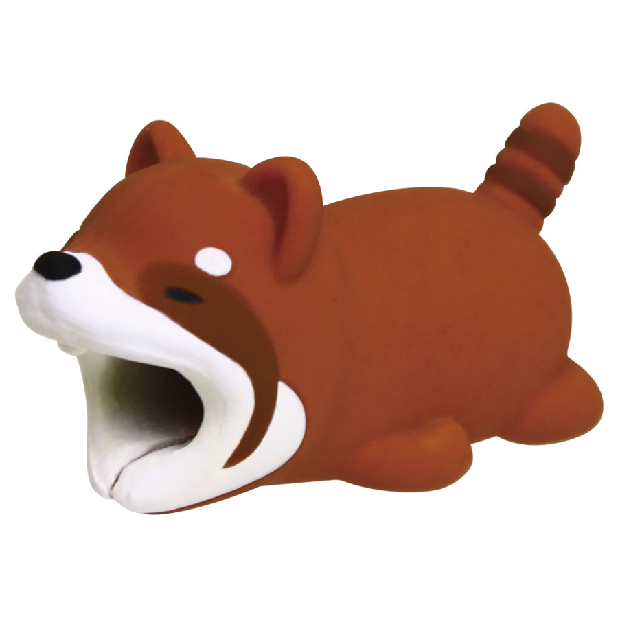 Image For Cable Bites iPhone Cable Holder - Brown Panda
