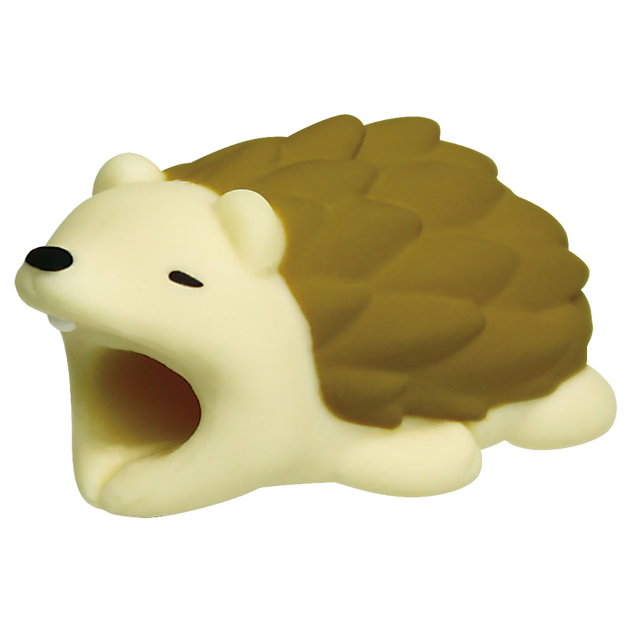 Image For Cable Bites iPhone Cable Holder - Hedgehog