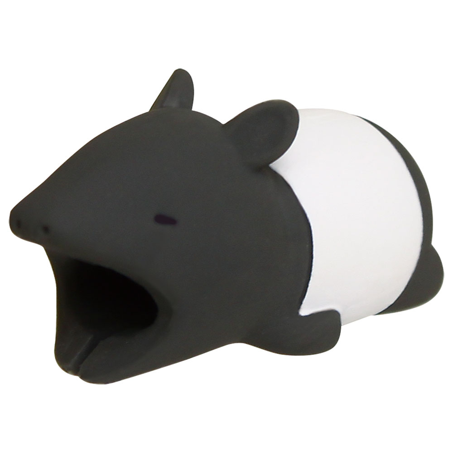 Image For Cable Bites iPhone Cable Holder - Malayan Tapir