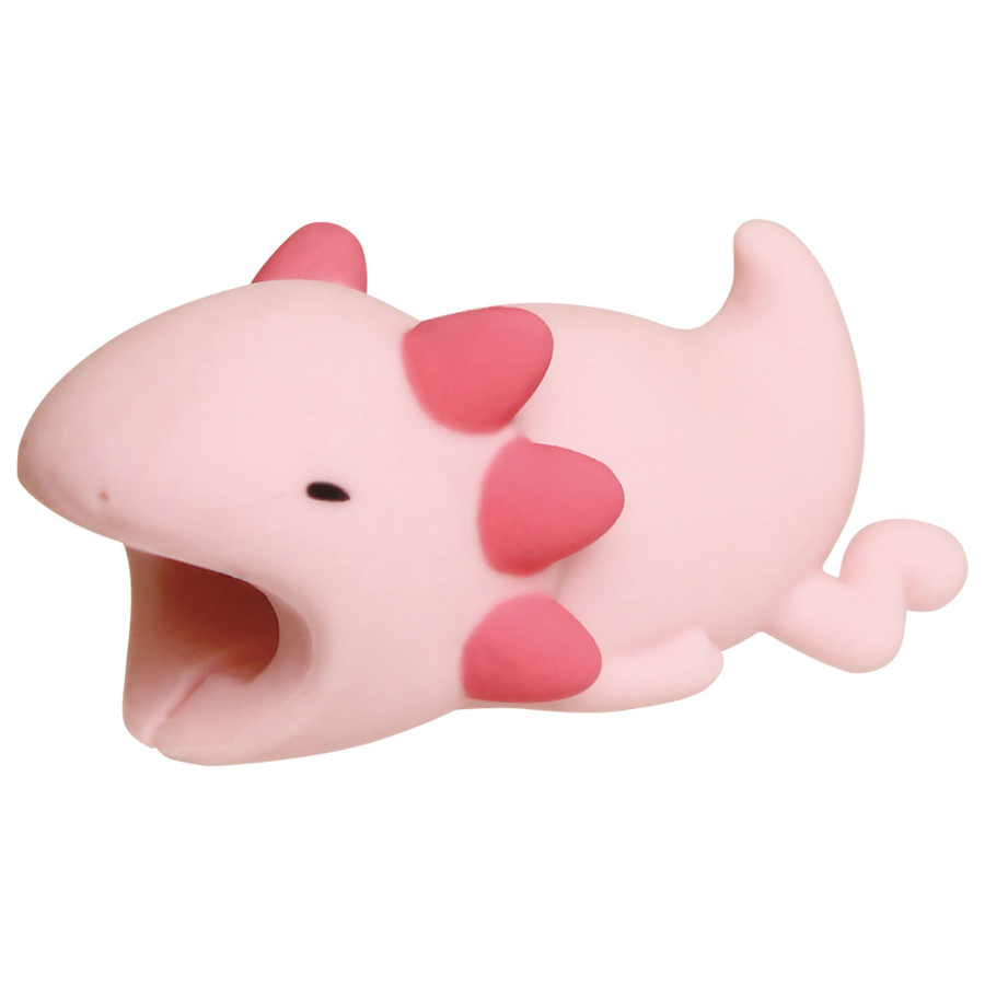 Image For Cable Bites iPhone Cable Holder - Axolotl
