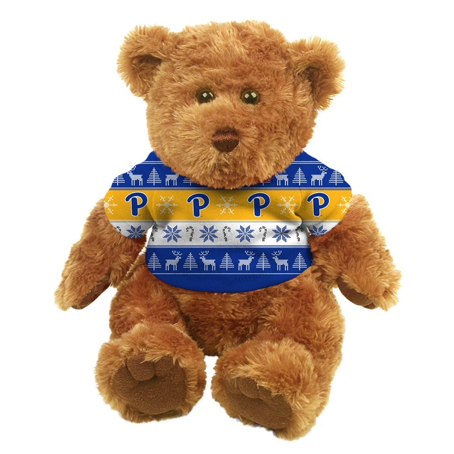 "Image For Spirit Products Pitt 10"" Christmas Sweater Bear"