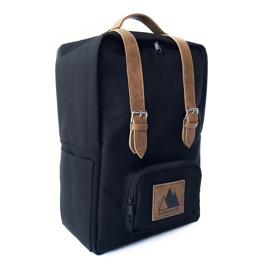Image For ADVENTURIST BACKPACK CO. -  BACKPACK – BLACK
