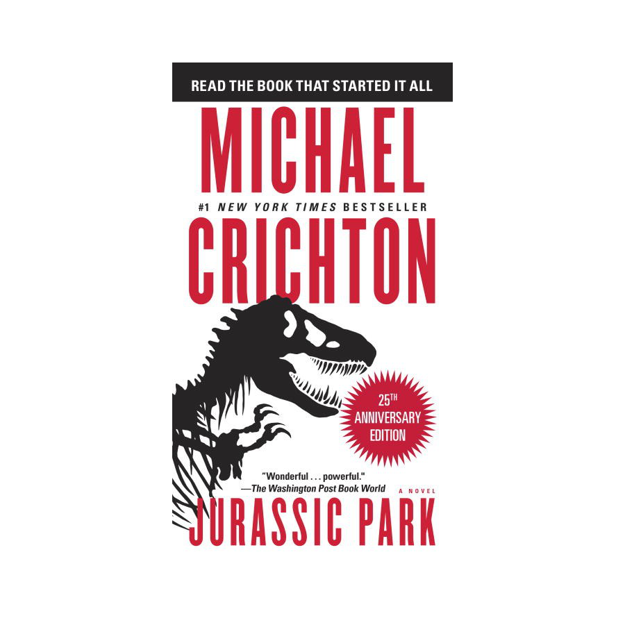 Image For Crichton - Jurassic Park: A Novel