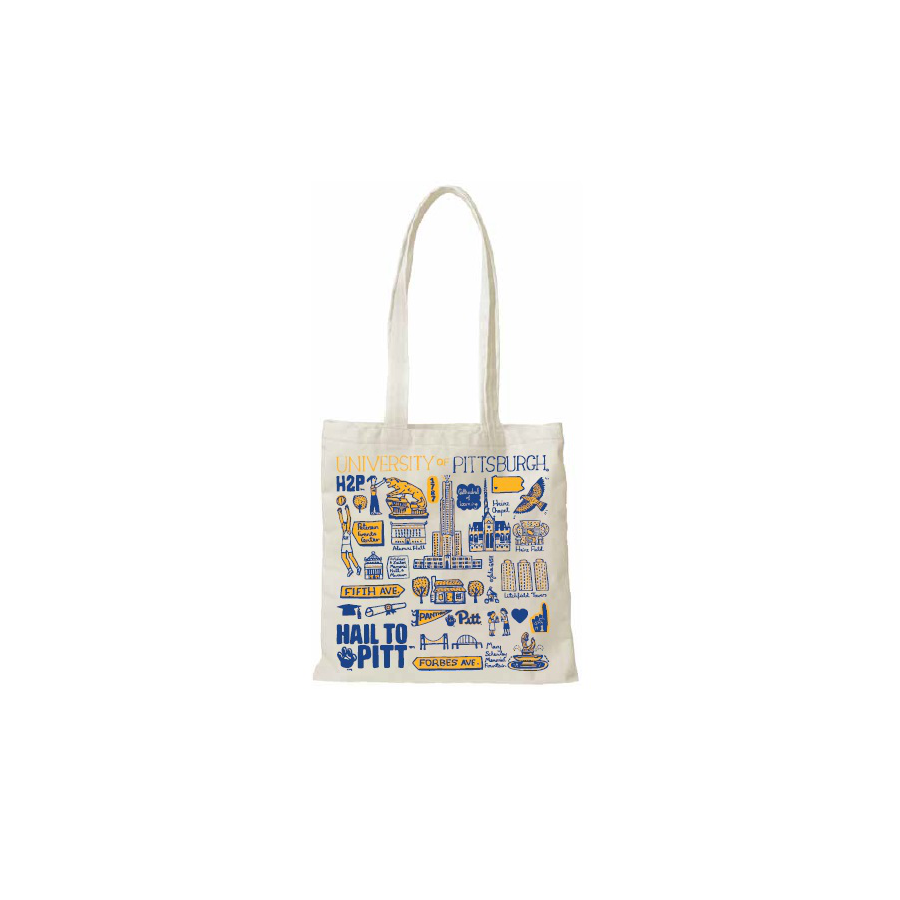 Image For JULIA GASH – SLIM TOTE – NATURAL CANVAS