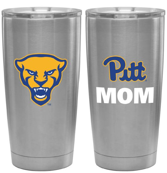 Image For Mom Travel Tumbler in Silver