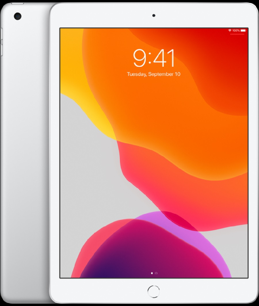 "Image For Apple iPad 10.2"" 128GB Silver"