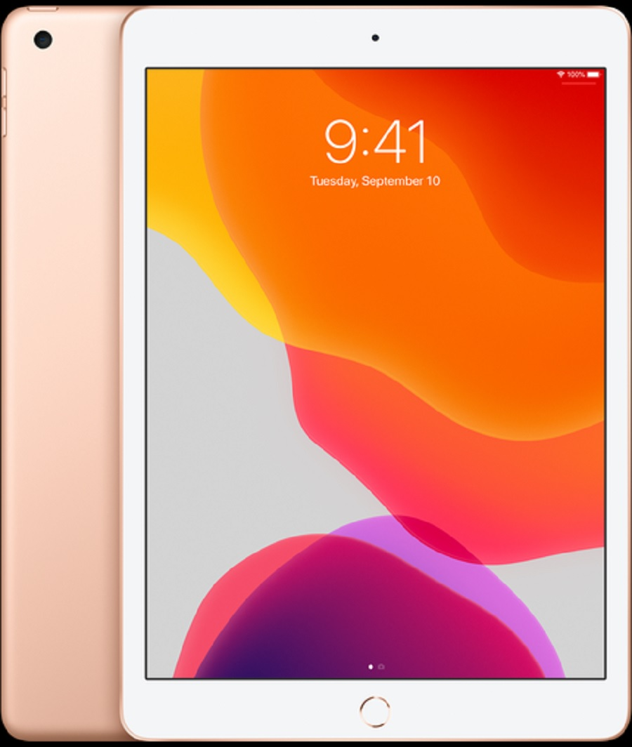 "Image For Apple iPad 10.2"" 128GB Gold"