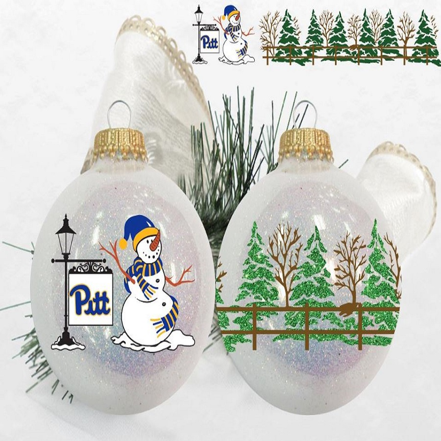 Image For Legacy Pitt Snowman Ornament
