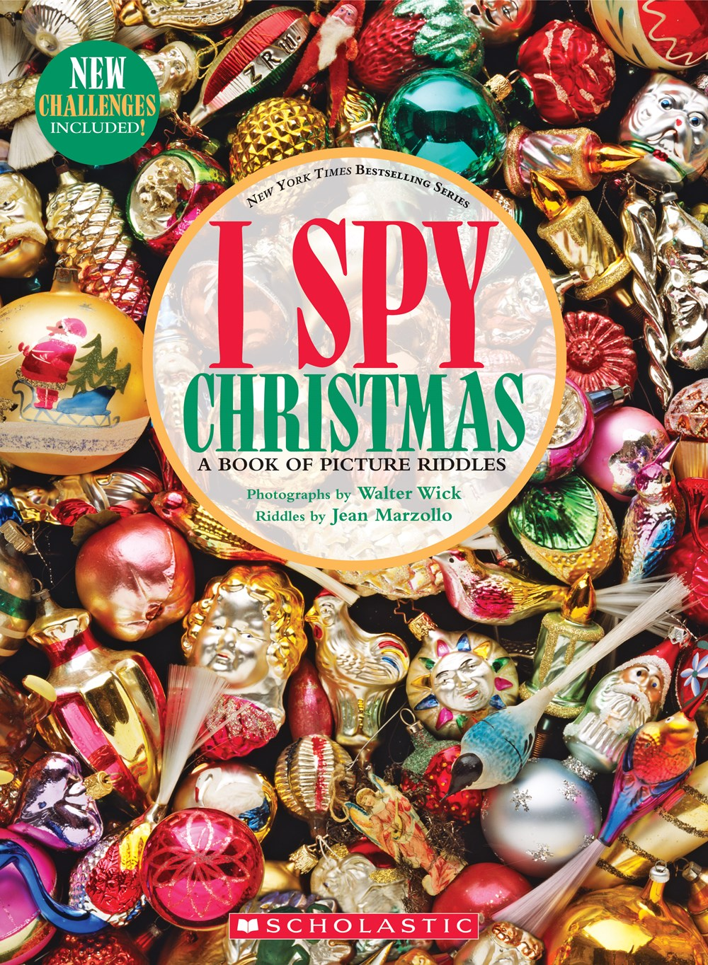 Cover Image For I Spy - Christmas: A Book of Picture Riddles