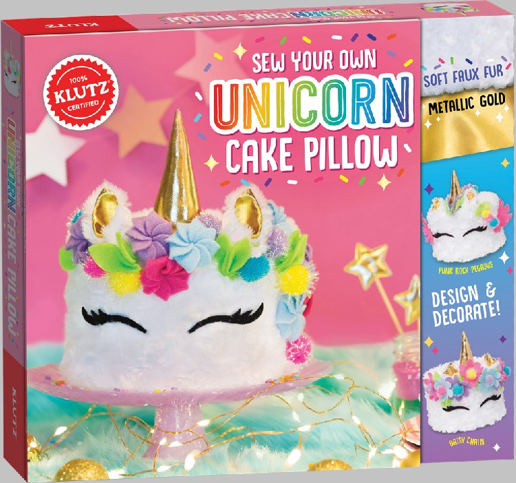 Image For Klutz - Sew Your Own Unicorn Pillow