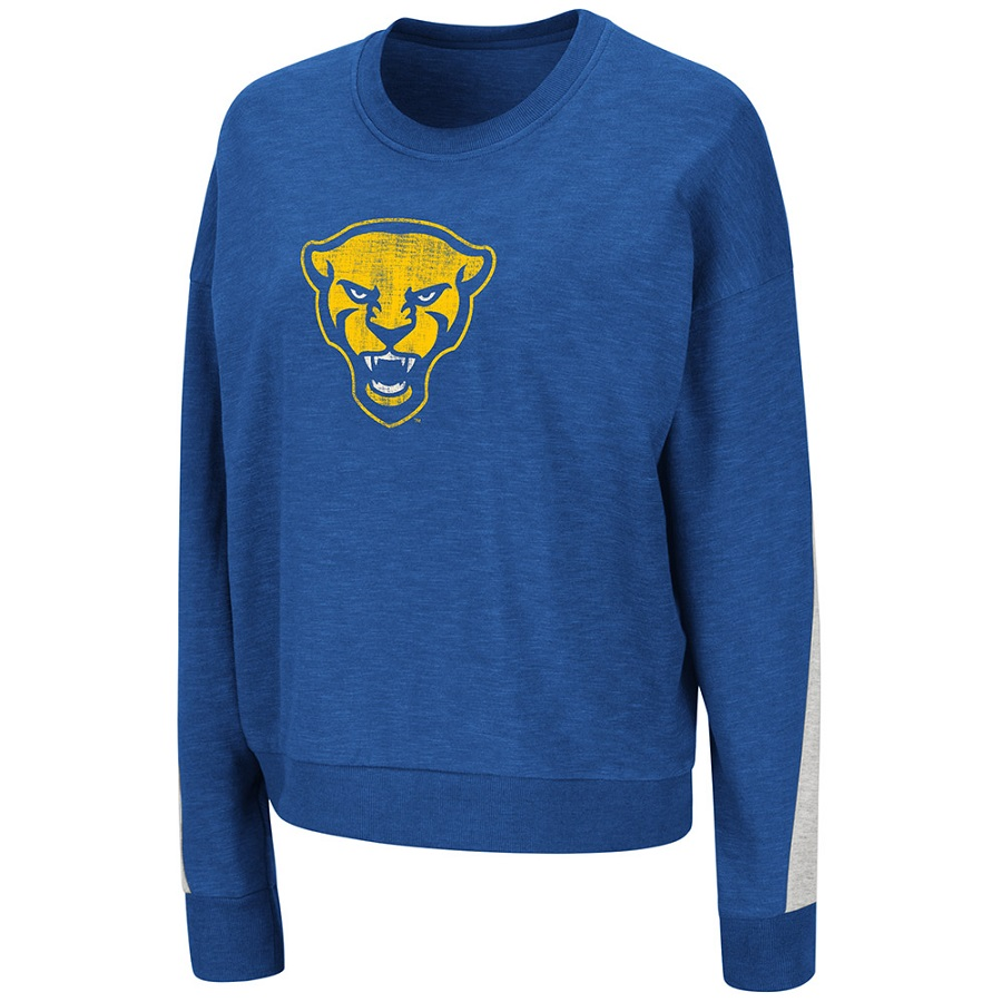 Image For Colosseum Women's Panther Head Sweatshirt