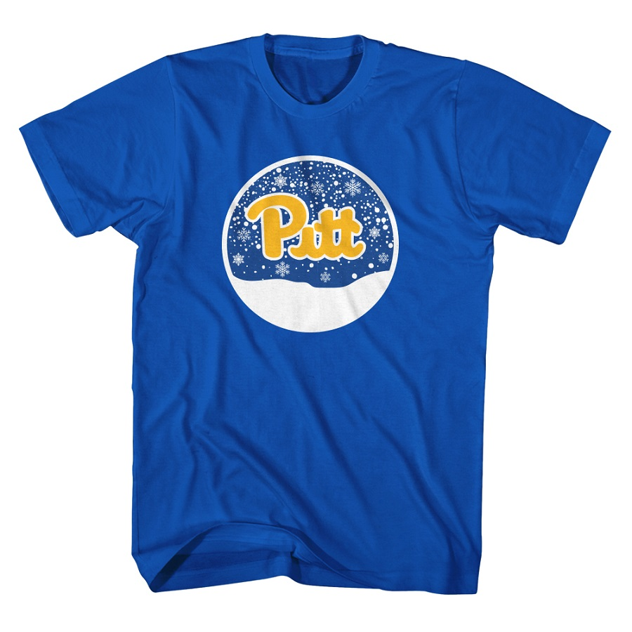 Image For University of Pittsbrugh Adult's Holiday 2019 T-Shirt