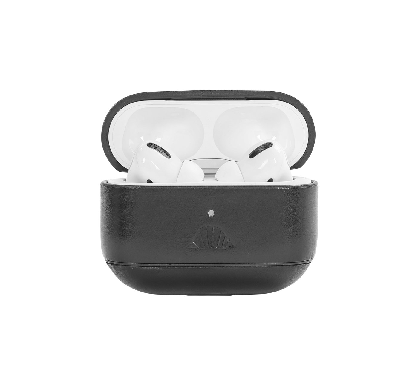 Image For INTELLIARMOR AIRPOD PRO CASE BLACK LEATHER