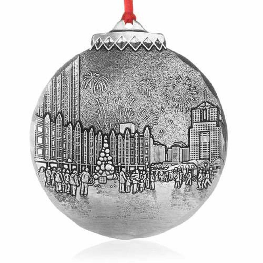Image For Wendell August Pittsburgh Light Up Night Ornament