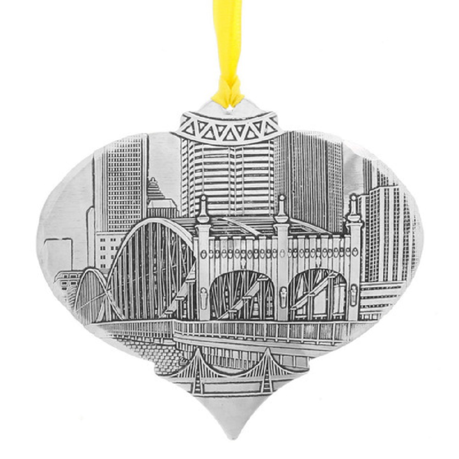 Image For Wendell August Pittsburgh's Smithfield St Bridge Ornament
