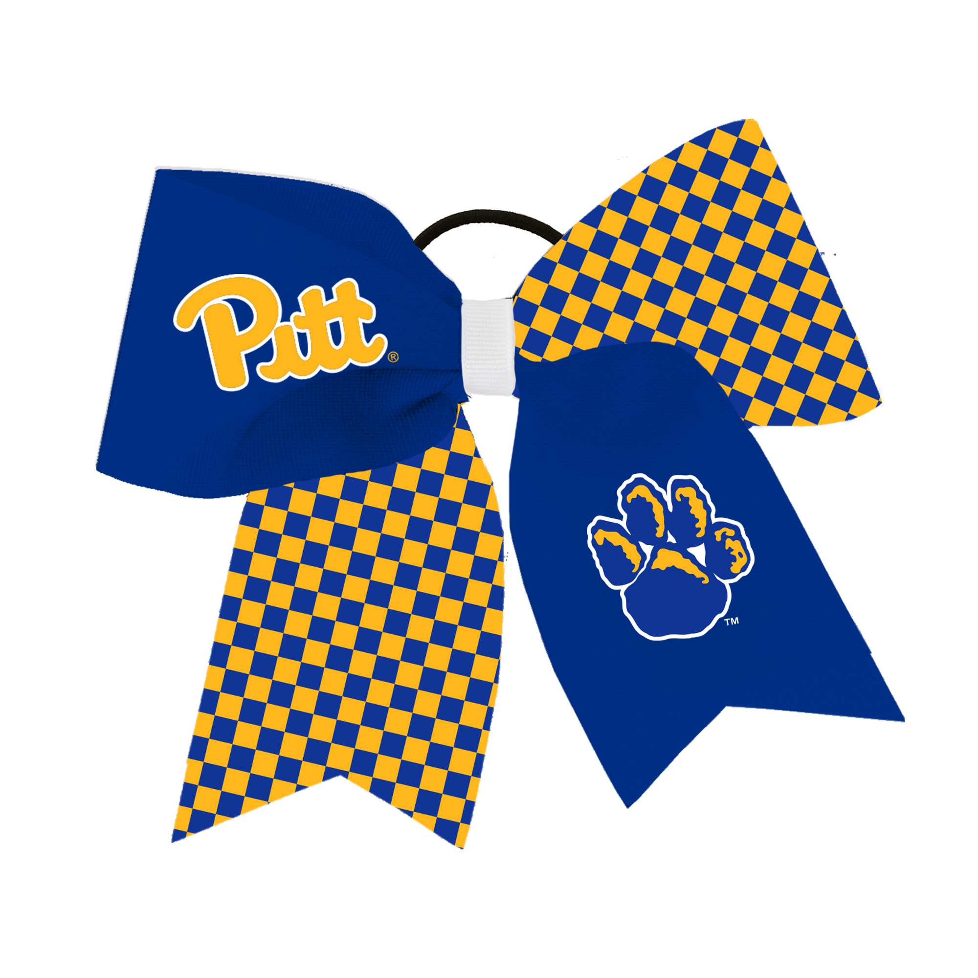 Image For Hairbow with Pitt logos