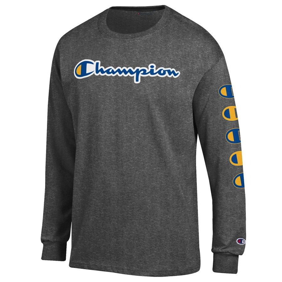 Image For Champion Adult's Long Sleeve Shirt