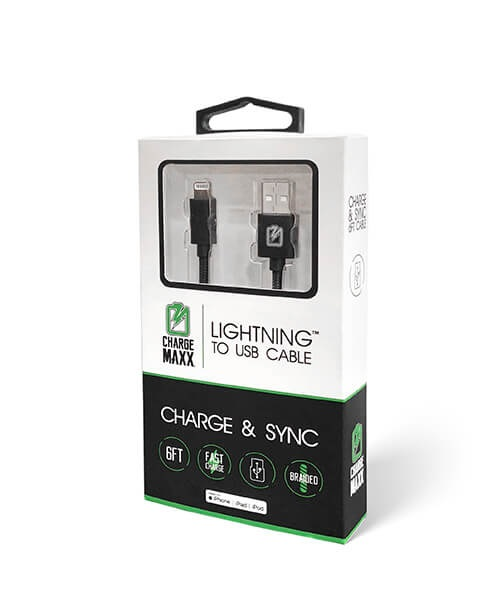 Image For Charge Maxx Lightning to USB Cable