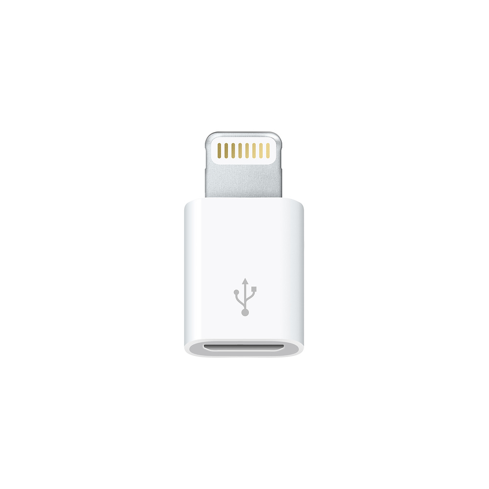 Image For Apple Lightning to Micro USB Adapter