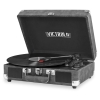 Cover Image for VICTROLA TURNTABLE 3 SPEED BLUETOOTH GRAY
