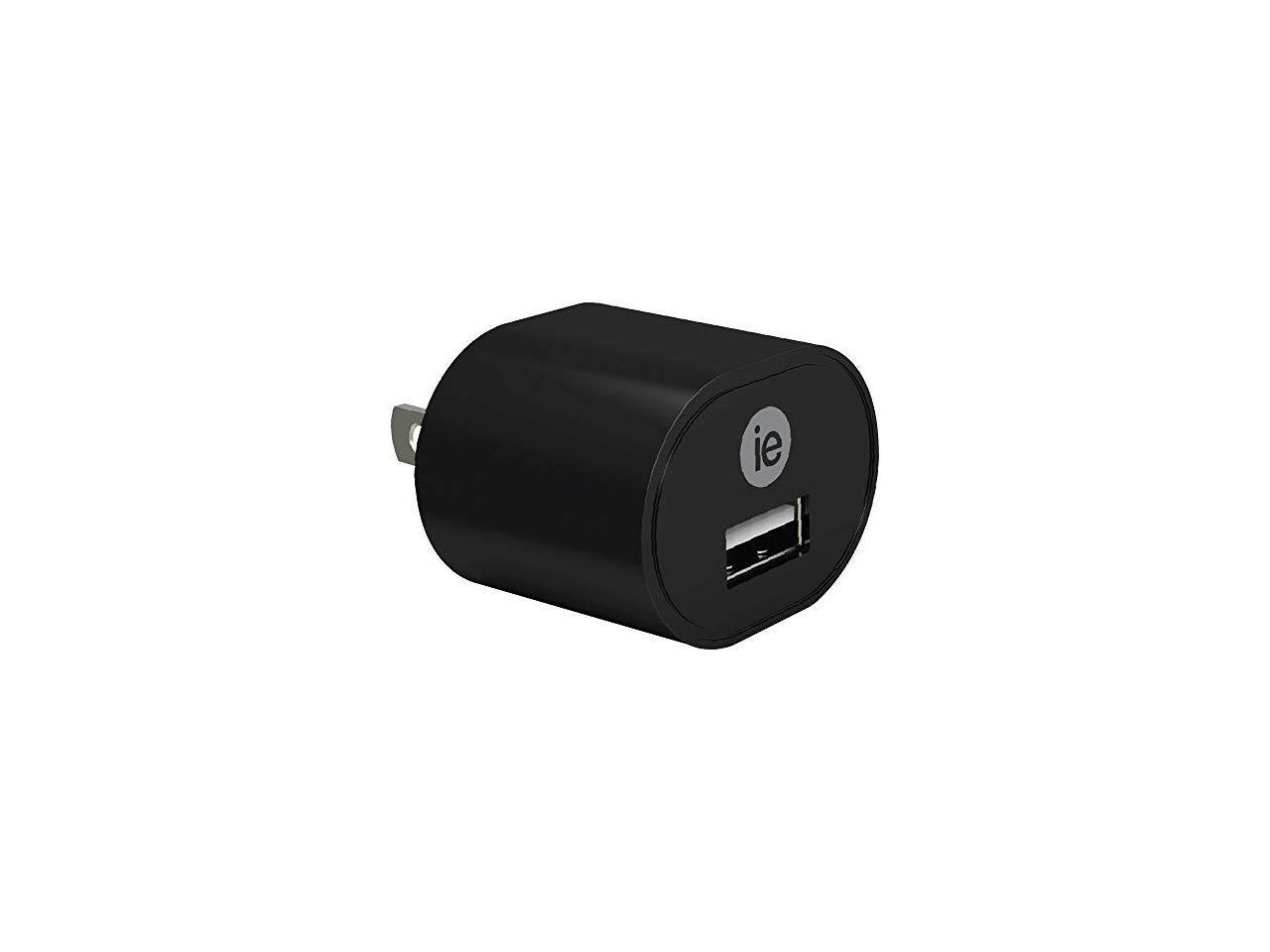 Image For iEssentials -1-Amp USB Wall Charger (Black)