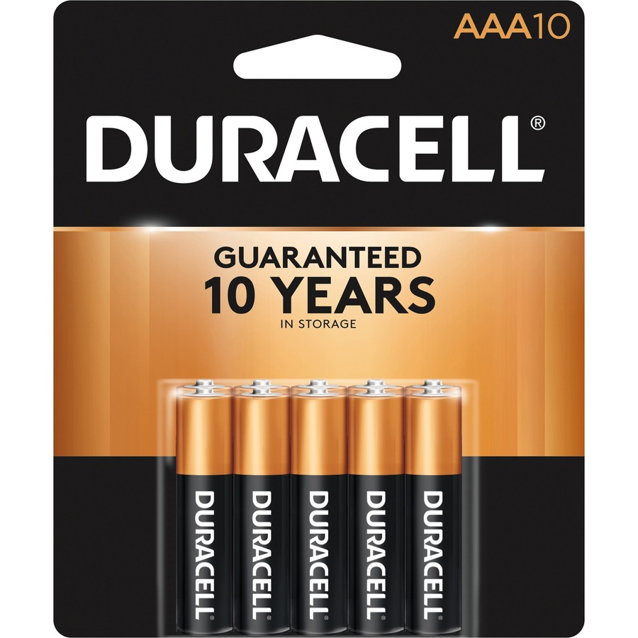 Image For Duracell CopperTop Alkaline AAA Battery, 4PK