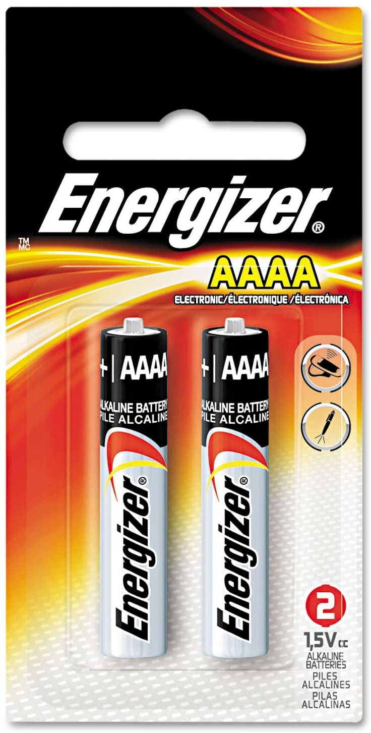 "Cover Image For Energizer Alkaline Battery,""AAAA"" Size, 2/Pack"