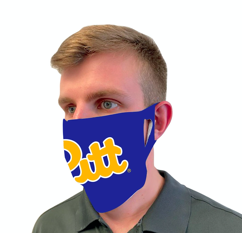 Image For Pitt Custom Facemasks by Wincraft