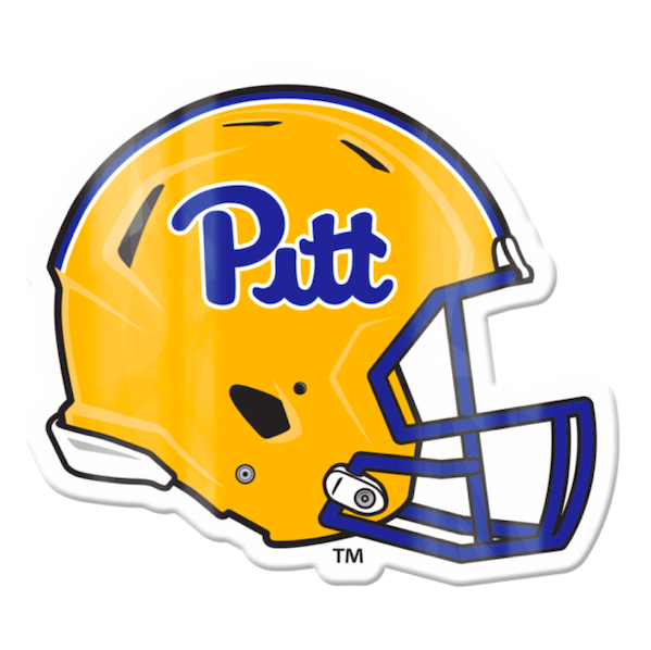 Image For Large Pitt Football Helmet Magnet
