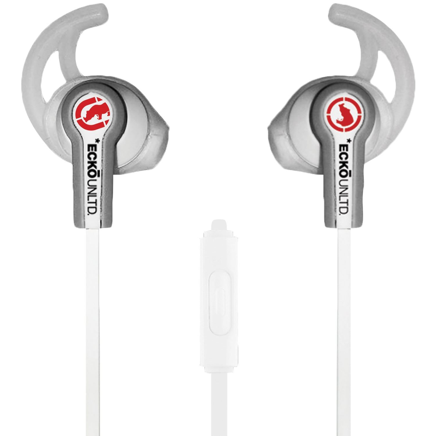 Cover Image For Ecko Unltd. Fuse Sport Earbuds with Microphone (White)