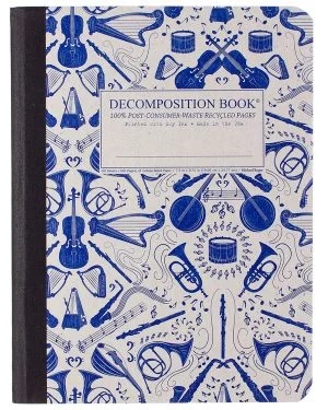 Image For Michael Roger's Decomposition Notebook - Acoustic