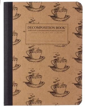 Image For Michael Roger's Decomposition Notebook - Coffee Cup
